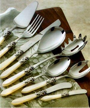 Flatware - Italian Design, Fine Stainless Flatware, Italy, Bugatti