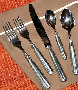 Designer Flatware - Pewter Flatware Classic Italian Pewter Upscale Flatware Designer Classic Italian Table Settings : pewter tableware - pezcame.com