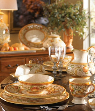 Setting a Sunny Stylish Table with Italian Designer Dinnerware & Italian Designer Dinnerware - Italian Dinnerware Italy Designer ...
