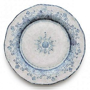 Classic Blue on White Dinner Plate 12\ D $48.00  sc 1 st  Country Gourmet : blue and white dinnerware - pezcame.com