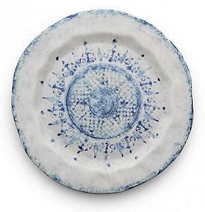 Classic Blue on White Salad Plate 8.5  D $44.00  sc 1 st  Country Gourmet : green and white dinnerware - pezcame.com