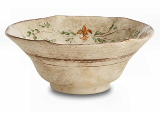 Rustic Italian Salad Serving Bowl