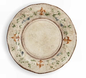 Rustic Italian Dinner Plate  sc 1 st  Country Gourmet : italian dinner plates - pezcame.com